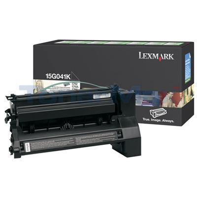 LEXMARK C752 RP PRINT CART BLACK 6K